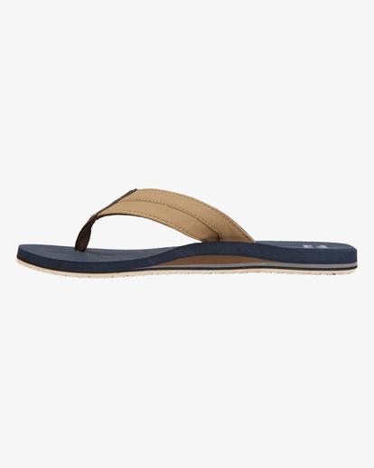 3 All Day Impact Sandals Blue MFOT1BAD Billabong