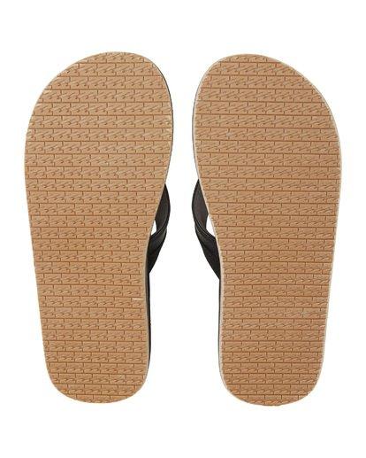 7 All Day Impact Print Sandals Black MFOT1BAI Billabong