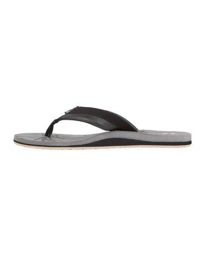 5 All Day Impact Print Sandals Grey MFOT1BAI Billabong