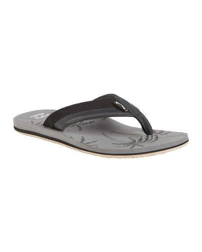 6 All Day Impact Print Sandals Grey MFOT1BAI Billabong