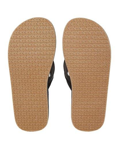 7 All Day Impact Print Sandals Blue MFOT1BAI Billabong