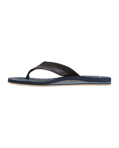 5 All Day Impact Print Sandals Blue MFOT1BAI Billabong