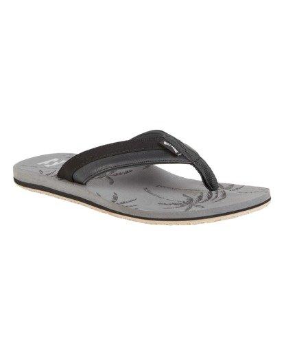 2 All Day Impact Print Sandals Grey MFOT1BAI Billabong