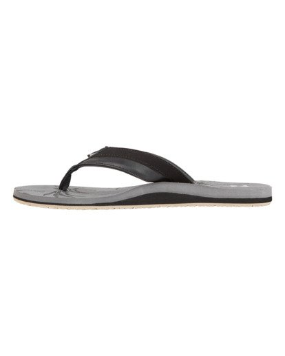 3 All Day Impact Print Sandals Grey MFOT1BAI Billabong