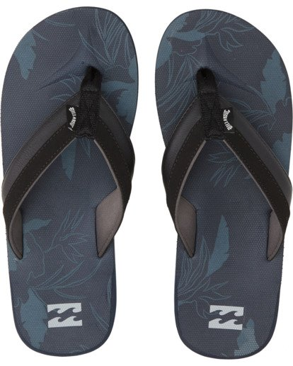 1 All Day Impact Print Sandals Blue MFOT1BAI Billabong