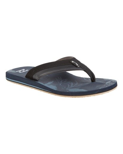 3 All Day Impact Print Sandals Blue MFOT1BAI Billabong