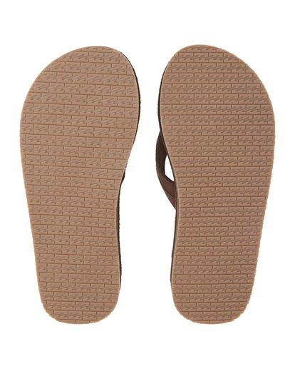 7 All Day Leather Sandals Brown MFOT1BAL Billabong