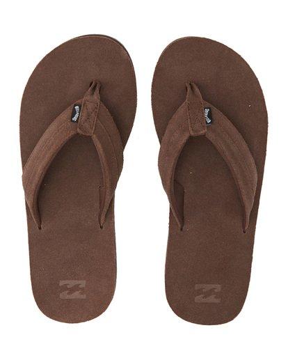 4 All Day Leather Sandals Brown MFOT1BAL Billabong