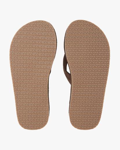 2 All Day Leather Sandals Brown MFOT1BAL Billabong
