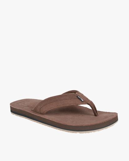 1 All Day Leather Sandals Brown MFOT1BAL Billabong