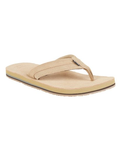 2 All Day Leather Sandals Brown MFOT1BAL Billabong