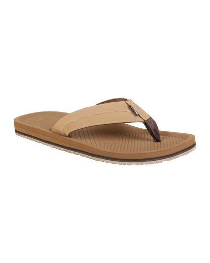 6 Offshore Impact Sandals Brown MFOT1BOI Billabong
