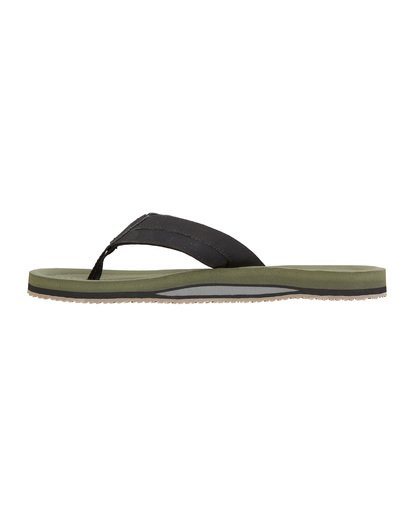1 Offshore Impact Sandals Green MFOT1BOI Billabong