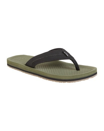 2 Offshore Impact Sandals Green MFOT1BOI Billabong