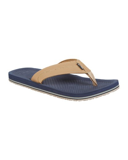 6 Offshore Impact Sandals Blue MFOT1BOI Billabong
