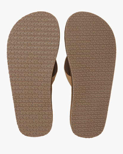 1 Offshore Impact Sandals Brown MFOT1BOI Billabong