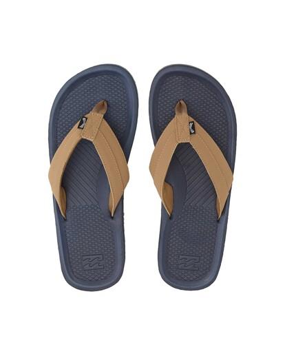 1 Offshore Impact Sandals Blue MFOT1BOI Billabong