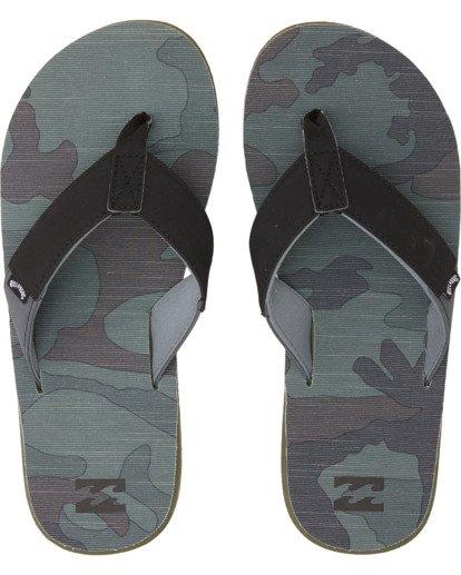 0 Overhead Sandals Green MFOT1BOV Billabong