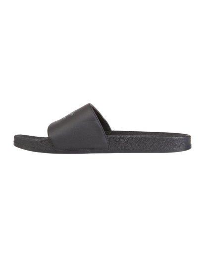 5 Poolslide Corp Vegan Leather Sandals Black MFOT1BPO Billabong