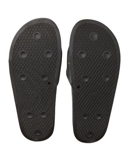 3 Poolslide Corp Vegan Leather Sandals Black MFOT1BPO Billabong