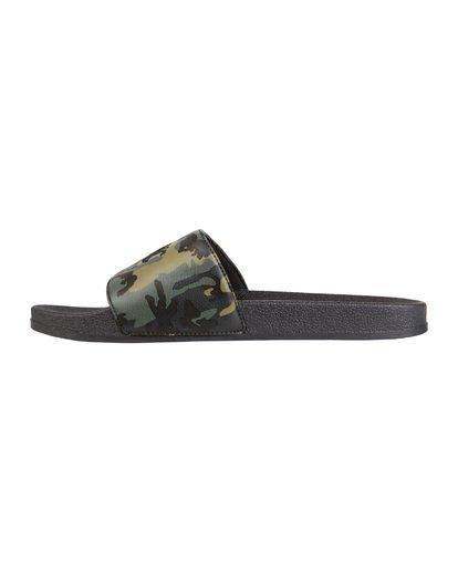 1 Poolslide Corp Vegan Leather Sandals Black MFOT1BPO Billabong