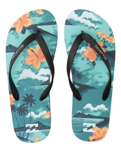 Billabong Mens Tides Sandals Blue 8