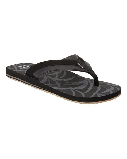 2 All Day Impact Print Sandals Blue MFOT3BAI Billabong