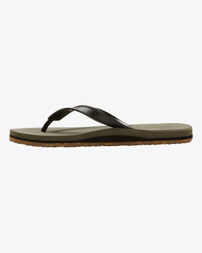 2 All Day Sandals Green MFOTNBAD Billabong