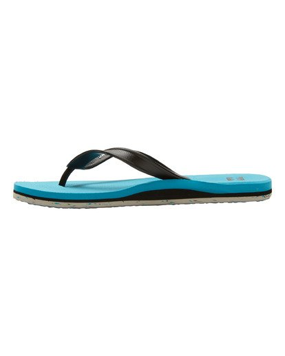 2 All Day Sandals Green MFOTNBAD Billabong