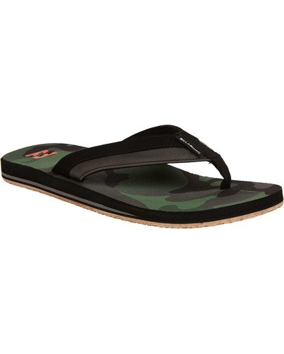 1 All Day Impact Sandals Green MFOTTBAI Billabong
