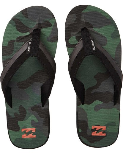 0 All Day Impact Sandals Green MFOTTBAI Billabong