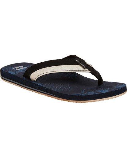 0 All Day Impact Sandals Blue MFOTTBAI Billabong