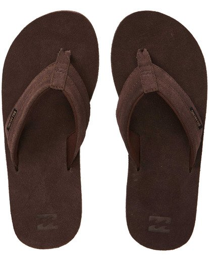 1 All Day Leather Sandals Brown MFOTTBAL Billabong