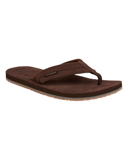 2 All Day Leather Sandals Brown MFOTTBAL Billabong