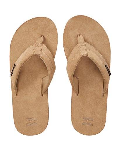 1 All Day Leather Sandals Beige MFOTTBAL Billabong