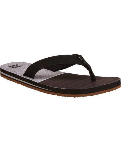 1 Fifty 50 Sandals Black MFOTTBFI Billabong