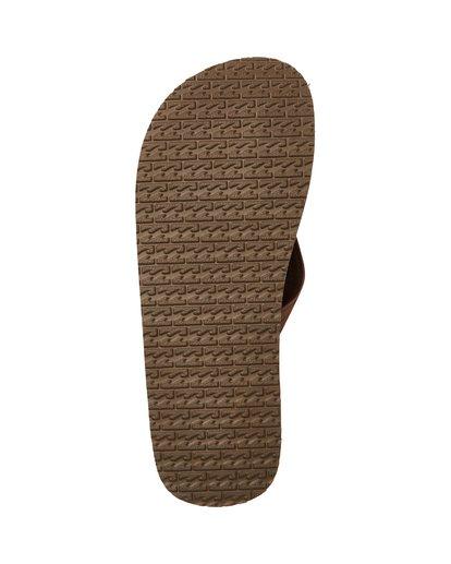 2 Fifty 50 Sandals Brown MFOTTBFI Billabong