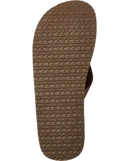 3 Fifty 50 Sandals Brown MFOTTBFI Billabong