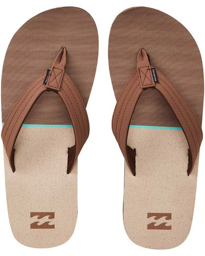 0 Fifty 50 Sandals Brown MFOTTBFI Billabong