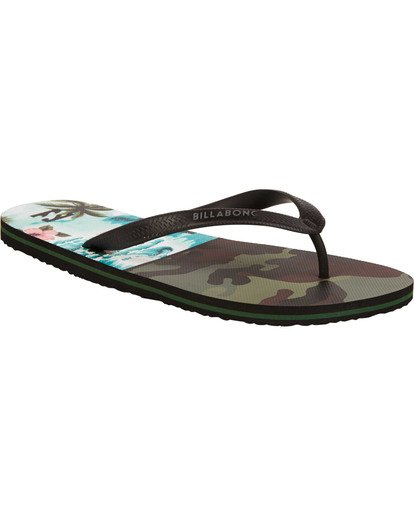 1 Tides Sandals Green MFOTTBTI Billabong