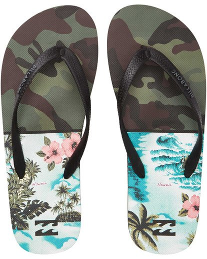0 Tides Sandals Green MFOTTBTI Billabong