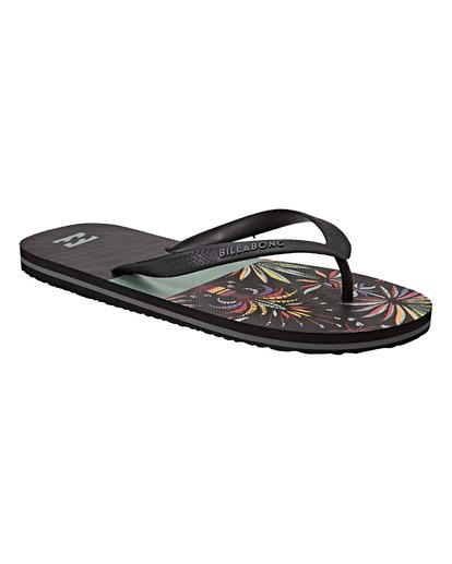 2 Tides Sandals Black MFOTVBTI Billabong
