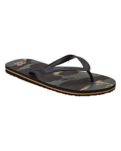 2 Tides Sandals Black MFOTVBTI Billabong