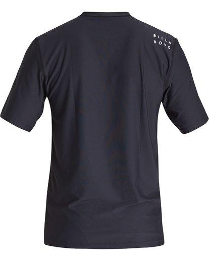 1 All Day Wave Loose Fit Short Sleeve Surf Shirt Black MR011BAL Billabong