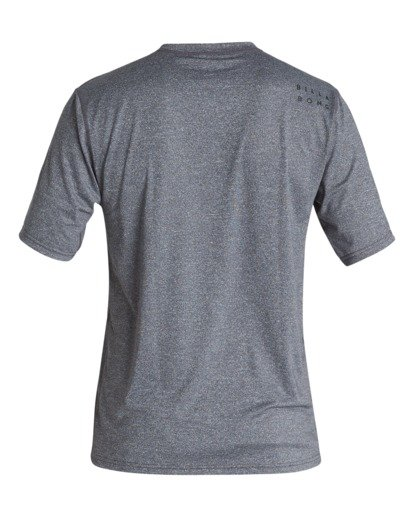 1 All Day Wave Loose Fit Short Sleeve Surf Shirt Grey MR011BAL Billabong