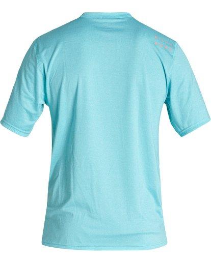 1 All Day Wave Loose Fit Short Sleeve Surf Shirt Orange MR011BAL Billabong
