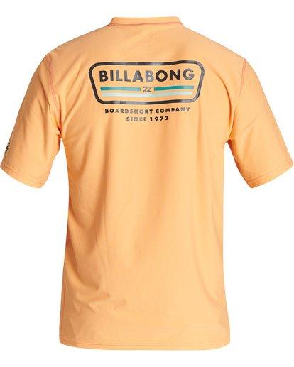 1 Badge Loose Fit Short Sleeve Surf Shirt Grey MR011BBD Billabong