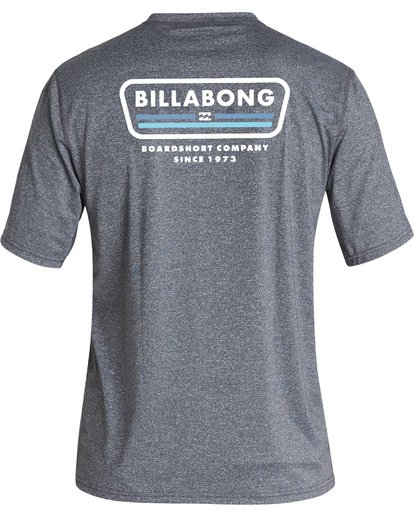 1 Badge Loose Fit Short Sleeve Surf Shirt Grey MR011BBD Billabong