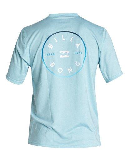 1 Rotor Loose Fit Short Sleeve Surf Shirt Multicolor MR011BRO Billabong