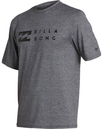 0 Trade Loose Fit Short Sleeve Rashguard Grey MR013BTR Billabong